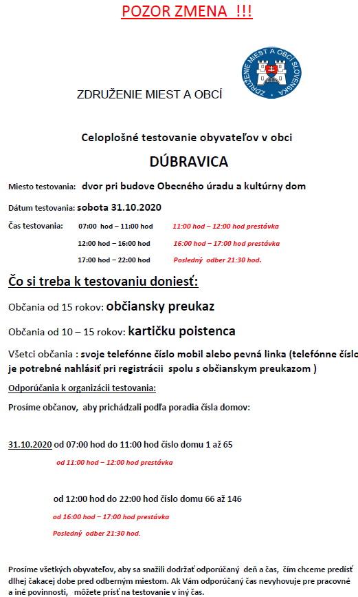 2020-10-30-dubravica-testovanie-covid