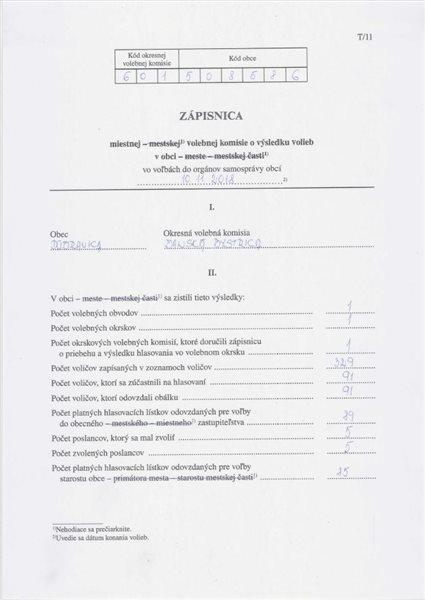 zápisnica 1